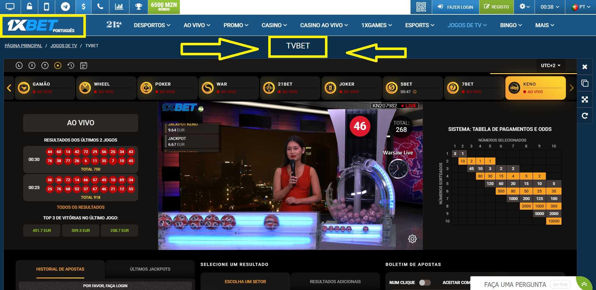 É possível apostar e assistir a jogos ao vivo com o 1xBet mobile